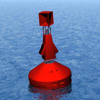 buoy boia bombordo 3d max