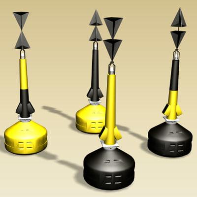 3d buoys boias cardeais