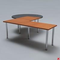 free 3ds model desk office