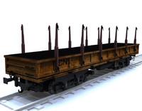 3dsmax wagon