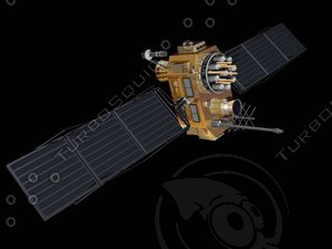 3d model satellite gps