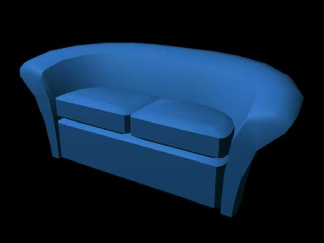 3d couch