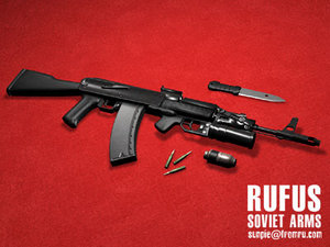 3d model of soviet russian assault
