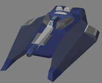 3d model of hover tank
