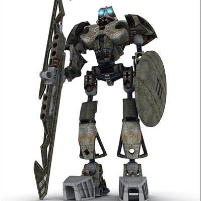 robot 3d x