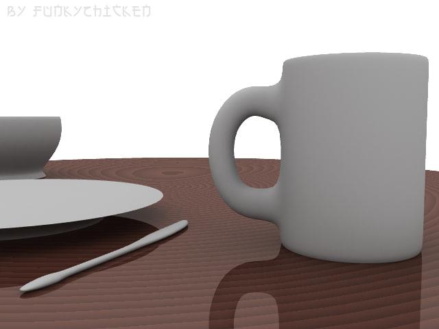 free lwo mode eating ware coffee mug