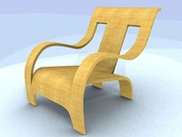 3ds max furniture chair