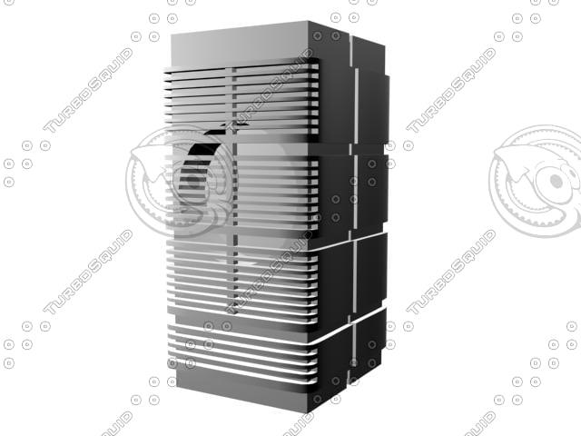 computer speaker 3d max
