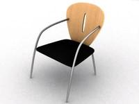chair italy design 3d model