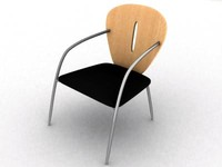 chair italy 3d 3ds