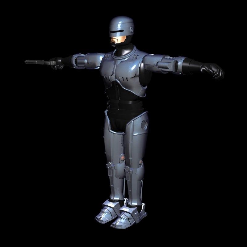 3d model robo ence ction
