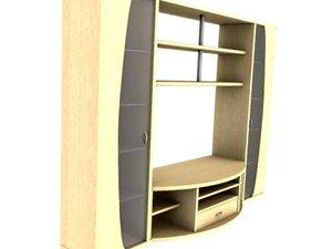 3d section tv model