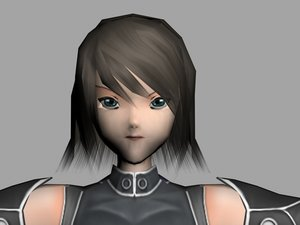 melche animate character games 3d model