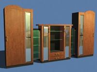 wardrobe cabinet 3d max