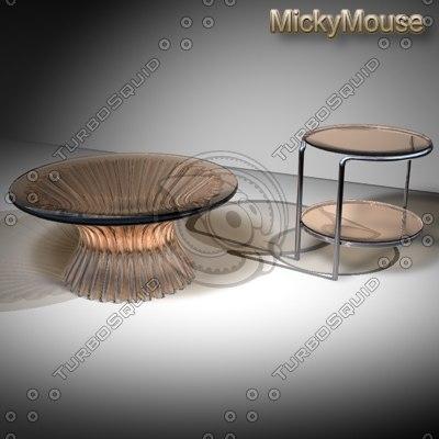 modern tables 3d