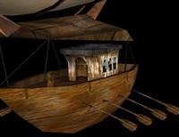 free airship 3d model