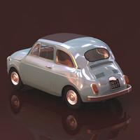 Fiat 500.c4d