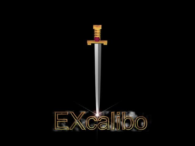 3ds max excalibo sword