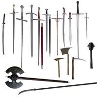sword axe battleaxe ma