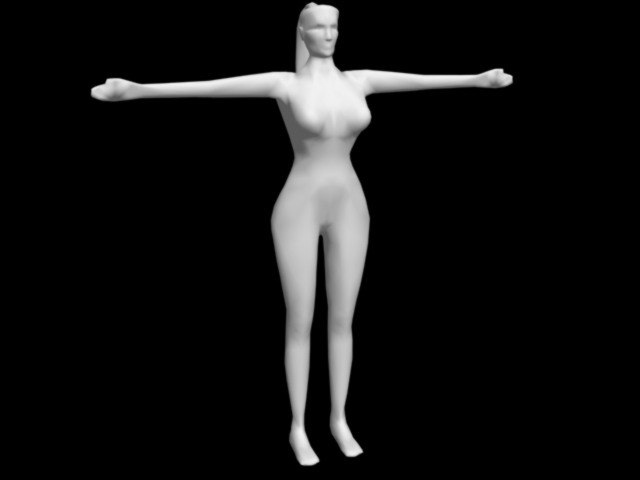 character realtime animation 3d model