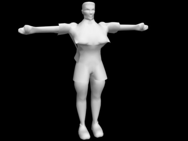 3d character realtime animation