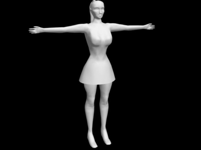 3ds max character realtime animation