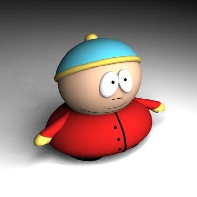 eric cartman 3d model