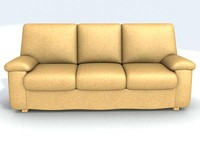 modern leather sofa 3d max