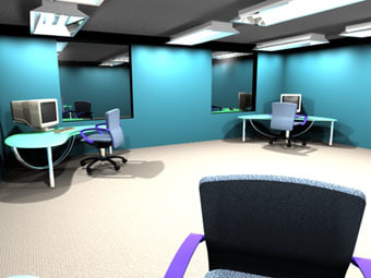 office chairs 3d ma