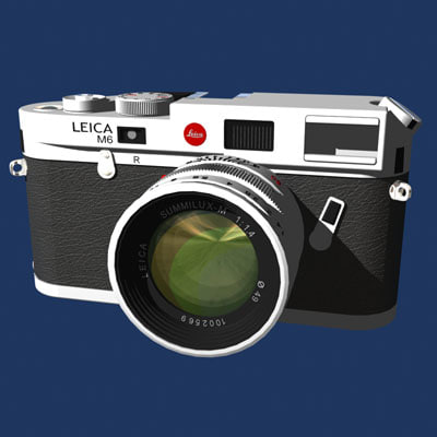 lwo leica m6 camera