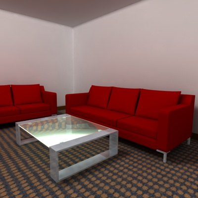 cinema4d couch table