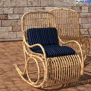 maya rocking chair fos