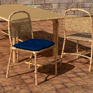 3d chair table los