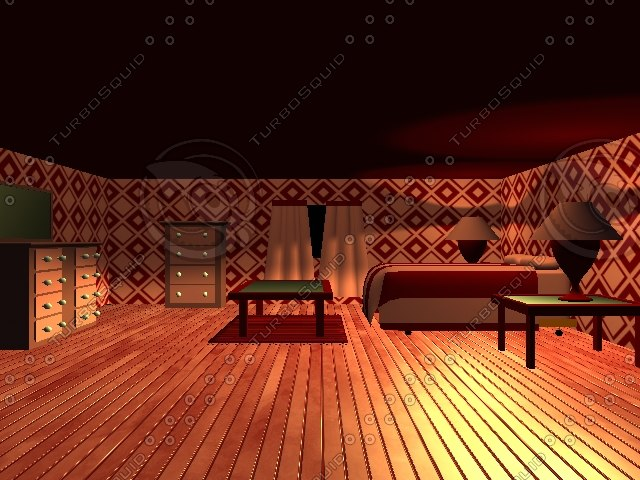 room tables 3d model
