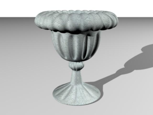 greecian urn 3d model