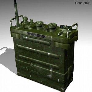 prc25 radio 3d model