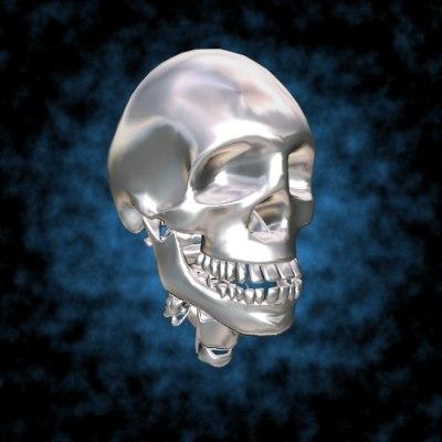 human head skull max