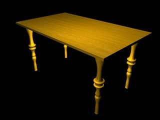 c4d table
