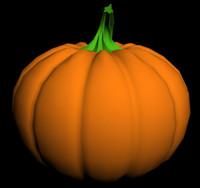 Pumpkin (Low Poly)