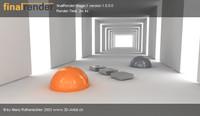 free hallway stage-1 3d model