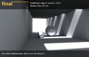 free stage-1 3d model