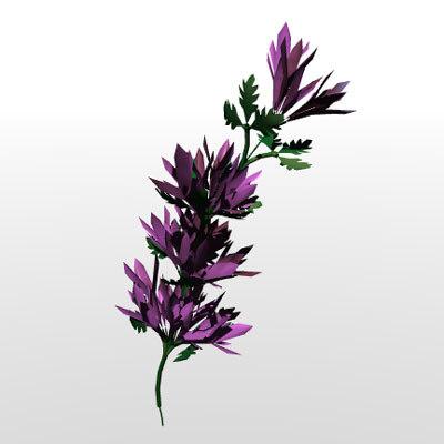 obj flower
