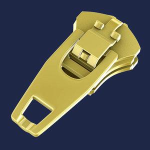 zipper head 3d model