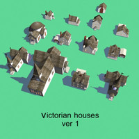 victorian house 3d model