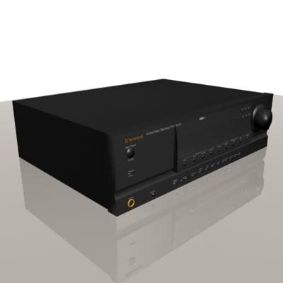 sherwood receiver 3d model