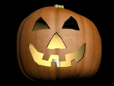 max carved pumpkin
