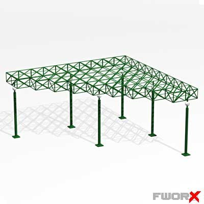 3d max entrance shed