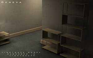 architectual interior 3d lwo