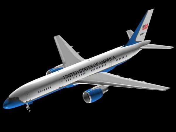 3d model b 757-200 c-32a