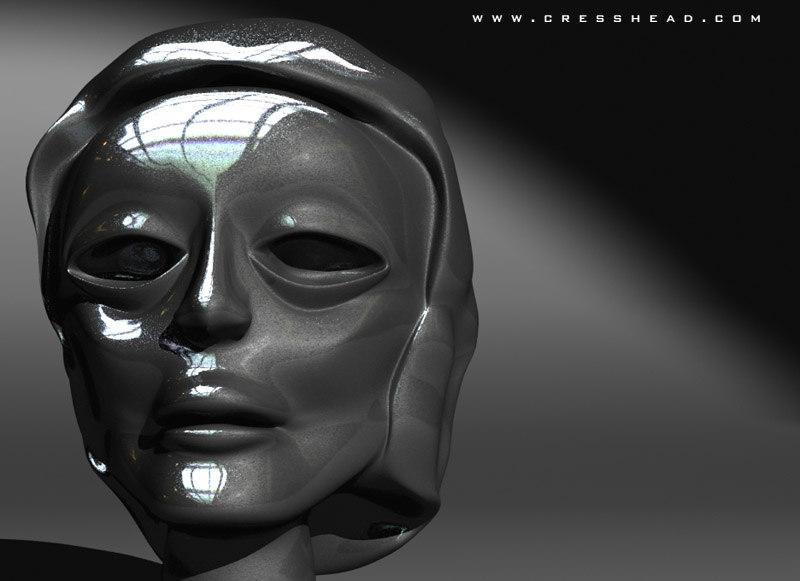 lightwave head 3d model